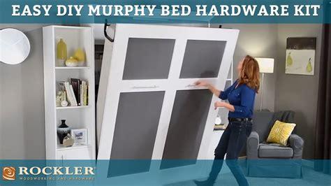 easier   diy murphy bed hardware kit youtube