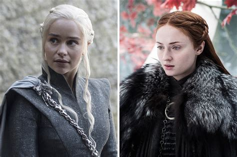 game of thrones season 8 sansa meets daenerys for first