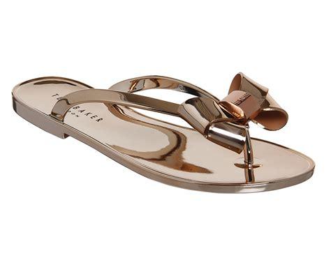 Ted Baker Jelly Sandal womens ted baker ettiea flip flops gold exclusive sandals ebay
