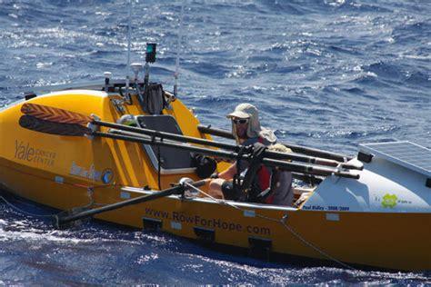 row boat around the world row boat sea anchors
