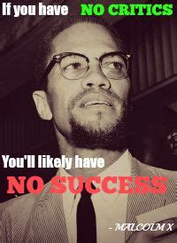 Malcolm X Memes - how to actually deal with professional music critiques