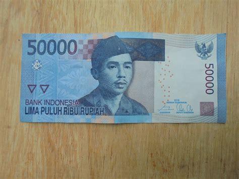 Seri Cantik Uang 50 Ribu jual beli uang kertas indonesia lima puluh ribu rupiah