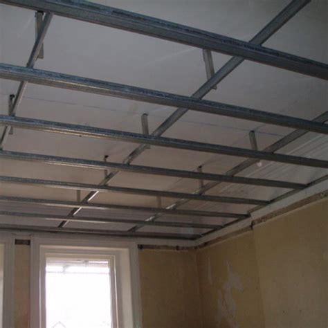 metal frame ceilings walls metal stud work js plasterers