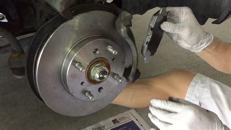 honda rotors tutorial change 2002 honda accord brake pads and rotors