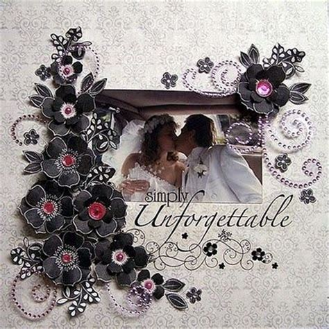 wedding scrapbook layout titles 48 best wedding albums images on pinterest wedding