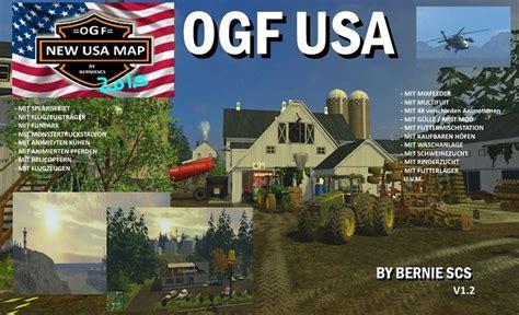ogf usa map ls 15 ogf usa v 1 2 maps mod f 252 r landwirtschafts simulator 15