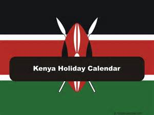 Calendar 2018 Kenya Kenya 2017 2018 Calendar