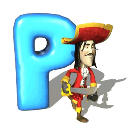 Animated P by Digital Hd Wallpapers Animated Alphabets Hd