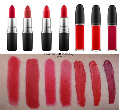 best mac lipstick best mac lipsticks for all skin tones swatches