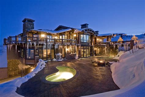 state of the art house designs ski dream home luxury mountain retreat utah most