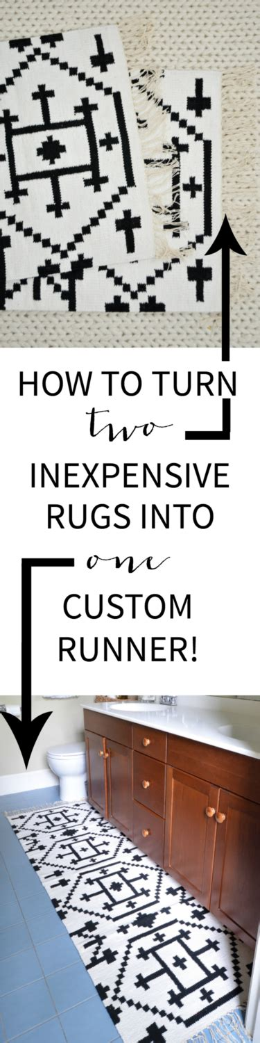 how to sew rugs together how to sew two small rugs together to make a custom runner the chronicles of home