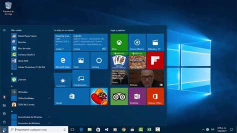 imagenes de windows 10 y sus partes conociendo entorno de windows 10 partes de la ventana
