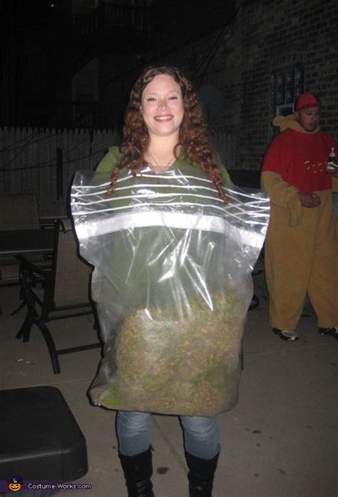 bag  weed costume homemade halloween costumes  funny