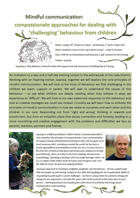 strategies for dealing with challenging behaviour mindful communication compassionate approaches for