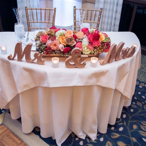 gold mr and mrs table sign mr mrs signs for the wedding sweetheart table decor in a