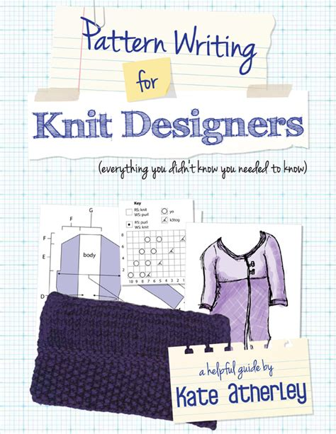 pattern writing knitting pattern writing for knit designers review and giveaway