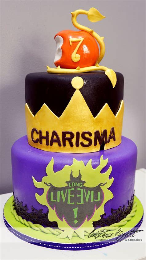 descendants cake cakecentralcom