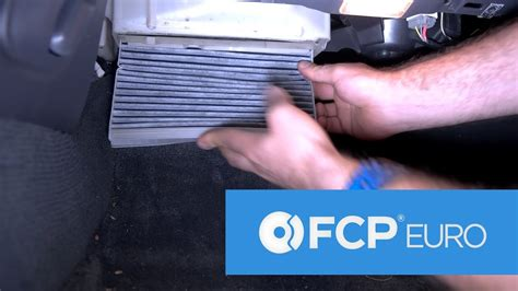 volvo cabin air filter replacement breathe easier    xc xc youtube