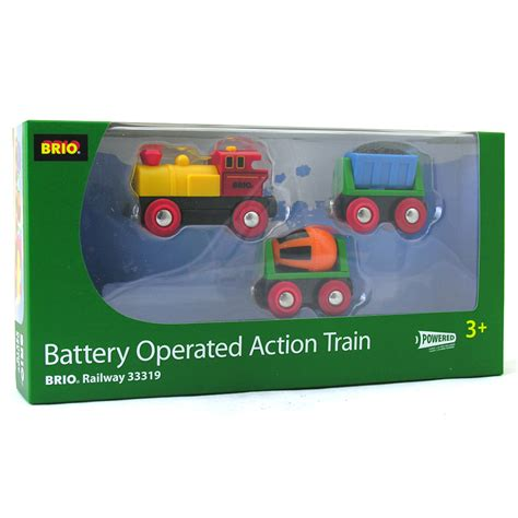 battery operated brio train brio battery operated action train 3 pack ebay
