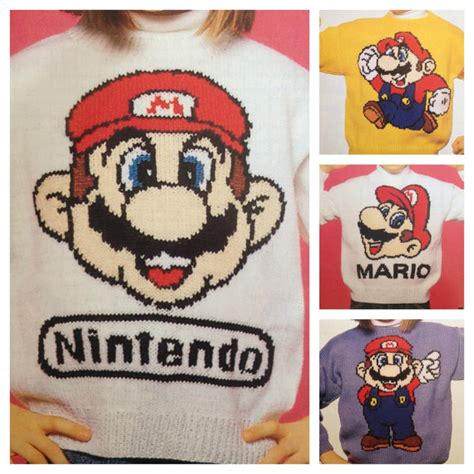 mario knitting patterns gaming knitting patterns in the loop knitting