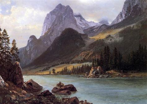 quot rocky mountain quot landscape painting oilpaintingsforsale