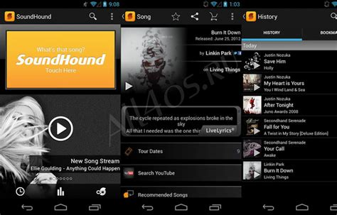 soundhound android скачать soundhound для android 187 all4os ru