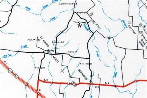 map of sealy texas map