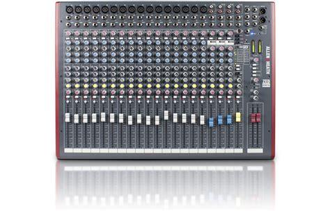 Mixer Allen Heath Zed 22 Fx allen heath zed 22fx question the gear page