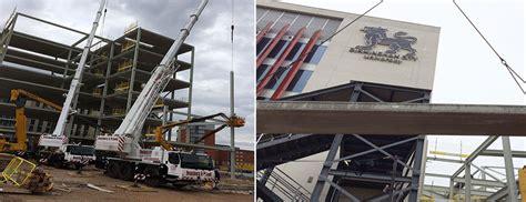 Eastside Floor Supplies Ltd by Birmingham City University S 163 31m Expansion Utilises Fp Mccann S Hollowcore Flooring