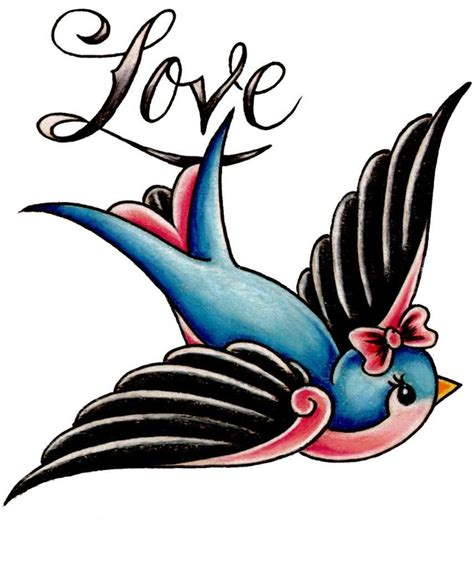 old school swallow tattoo designs 27 school tattoos designs and ideas inspirationseek