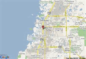 map of new port richey florida map of valu lodge of new port richey new port richey