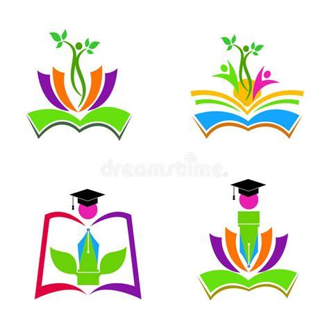 design elements edu education logos stock vector illustration of diploma