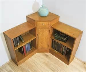 Heals Bookcase Heals Oak Art Deco Corner Bookcase Antiques Atlas