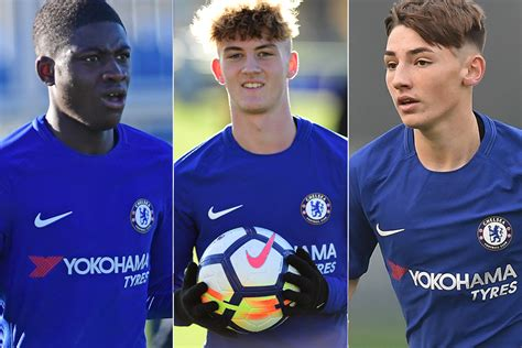 epl u18 table u18 pl cup final chelsea players to watch