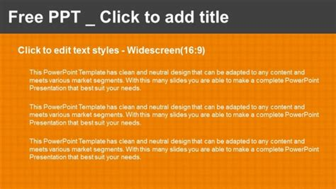 Checkers Board Template by Orange Checkers Background Powerpoint Templates