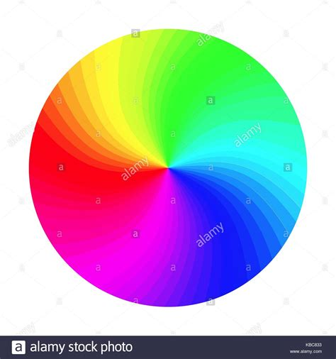 color wheel rgb rgb color wheel vector classic palette isolated