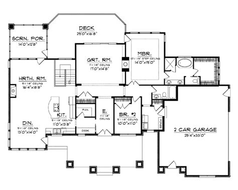 Single Level House Plans by 301 Moved Permanently