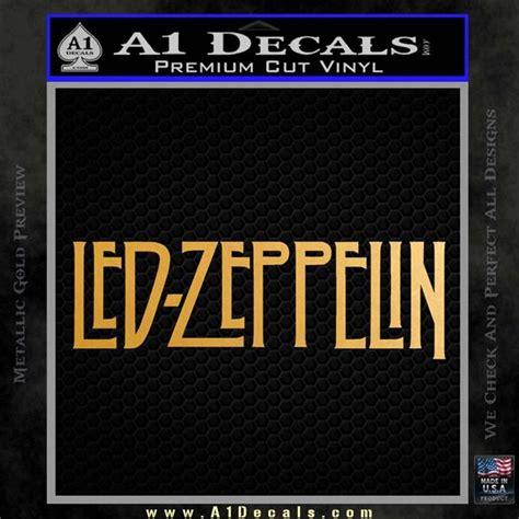 led zeppelin decal sticker logo 187 a1 decals