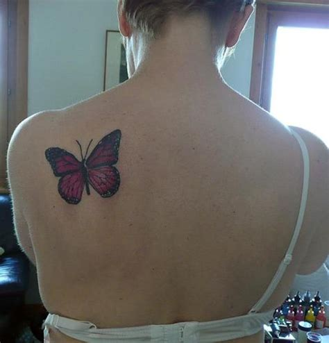 cute tr st tattoos 73 awesome butterfly shoulder tattoos