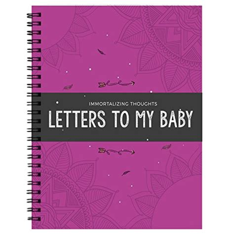 up letter to my baby immortalizing thought letter to my baby personalized