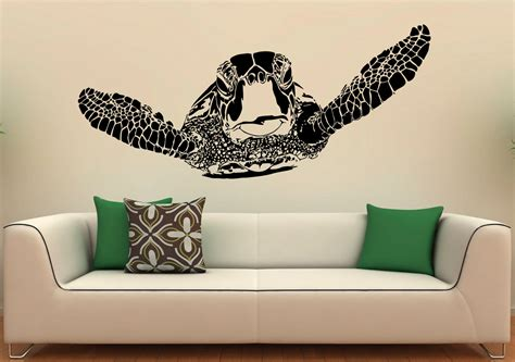 turtle wall stickers sea turtle wall decal vinyl stickers sea animals home interior