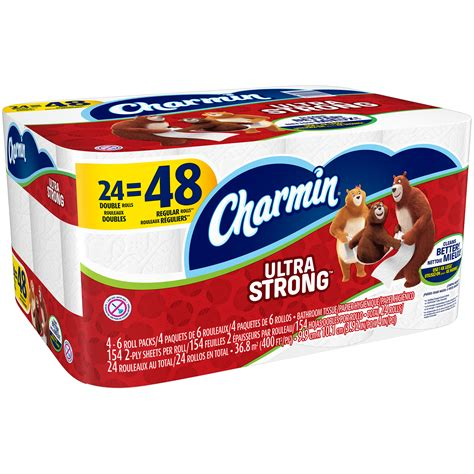 Who Makes Charmin Toilet Paper - charmin ultra strong toilet paper 24 rolls