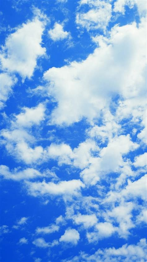 Cloudy Blue Iphone 666s6s77 cloudy blue sky wallpaper 133685