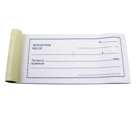 custom ncr sales receipt books of payment cash receipt
