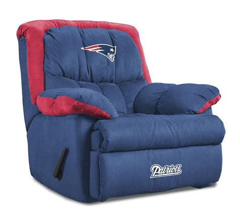 patriots chair new patriots home team recliner chair from