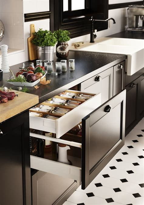 ikea kitchen drawer ikea s new modular kitchen sektion makes custom dream kitchens possible for everyone skimbaco