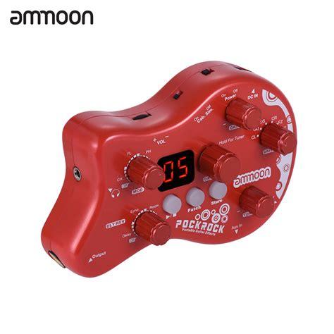 Ammoon Pockrock Portable Guitar Multi Effect Processor Efek Gitar Baru effect pedal picture more detailed picture about ammoon