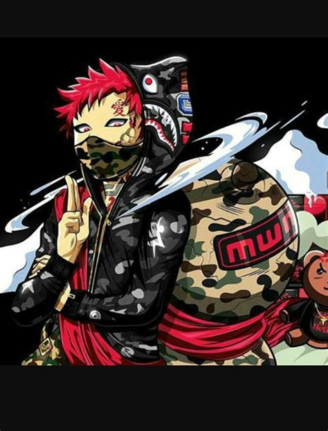 Anime X Supreme by Supreme Anime Wallpapers Wallpaper Cave