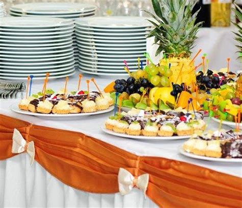 Buffet Table Ideas by Ideas For The Buffet At A Wedding Reception Slideshow