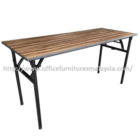 4ft square folding table 4ft cappuccino rectangular banquet folding table office